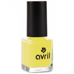 Avril cosmétique Vernis à ongles Jaune Jonquille n°632 7ml maquillage vegan des ongles les copines