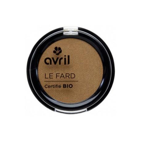 Avril cosmétique Fard à paupières Noisette irisé 2.5gr maquillage bio des yeux les copines bio