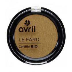 Avril cosmétique Fard à paupières Or vénitien 2.5gr maquillage bio les copines bio