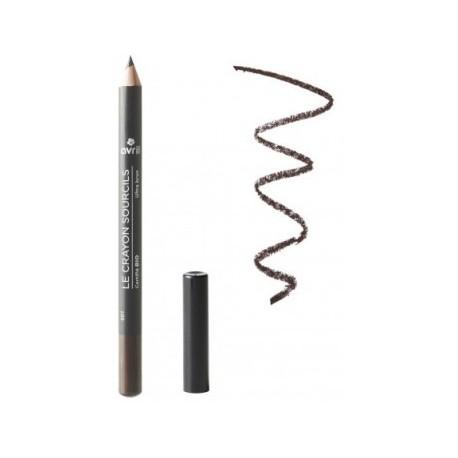 Avril cosmétique Crayon à Sourcils ultra Brun 1g maquillage bio des yeux les copines