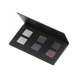 Palette de fards à paupières Smoky - 9gr - 6 couleurs