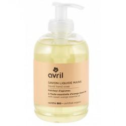 Avril cosmétique Savon liquide mains Fraicheur d'agrumes 300 ml hygiène bio les copines