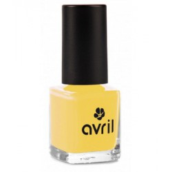 Avril cosmétique Vernis à ongles Jaune Curry n°680 7ml maquillage vegan les copines