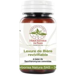 Levure de biere revivifiable 400 mg par gélule Herboristerie de Paris