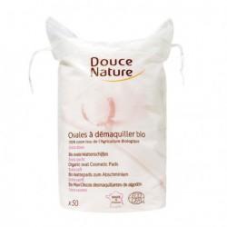 Douce Nature Ovales à démaquiller en coton coton bio les copines bio