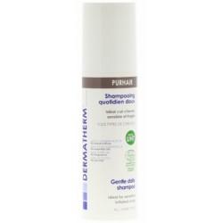 Dermatherm Purhair Shampooing quotidien doux cheveux sensibles 150ml