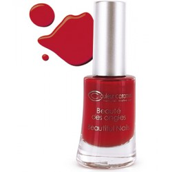 Couleur Caramel Vernis à ongles rouge poinsettia n° 42 - 8 ml