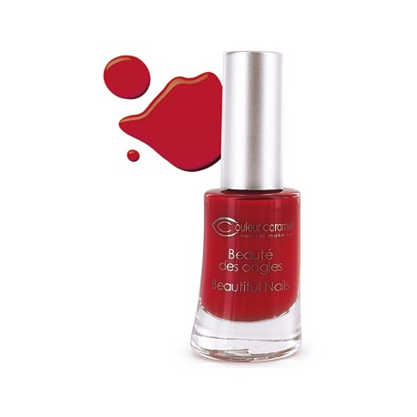 Couleur Caramel Vernis à ongles rouge poinsettia n° 42 - 8 ml