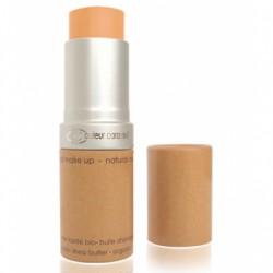 Couleur Caramel Fond de teint compact Beige orangé n° 13 - 16 gr maquillage bio