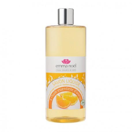 Savon liquide bio à l'huile essentielle d'orange 1 L