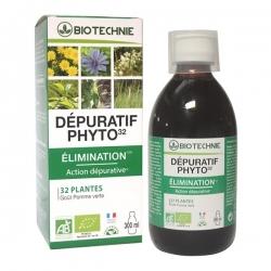 Biotechnie Boisson dépuratif Phyto 32 - 300ml