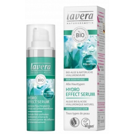 Lavera Hydro Effect Serum anti-pollution 30ml les copines bio