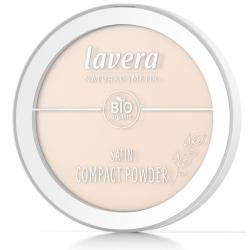 Lavera Poudre minérale compacte Ivoire 01 - 7gr maquillage bio du teint