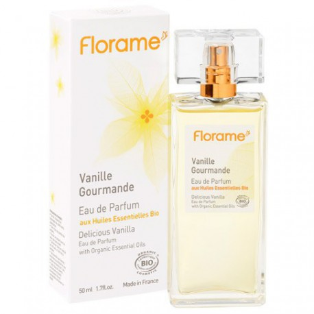Eau de Parfum Vanille Gourmande-50 ml - Huiles essentielles bio