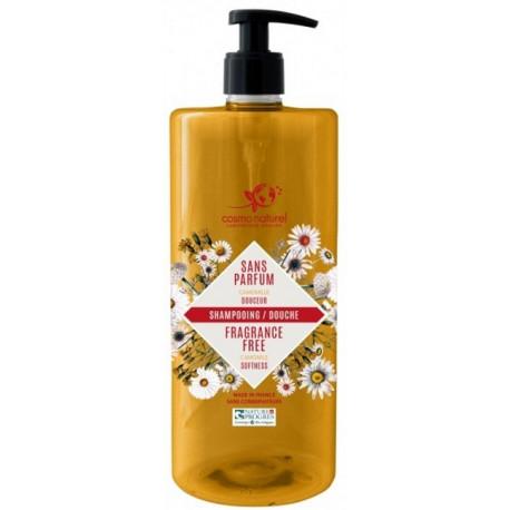 Shampooing Douche Camomille sans parfum 1000ml