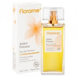 Eau de Parfum Ambre Précieux-50 ml - Huiles essentielles bio