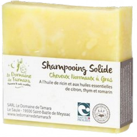 domaine de tamara savon shampoing solide karité lin olive coco les copines bio
