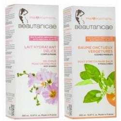 Pack super hydratation vergetures 2 cosmétiques bio Beautanicae