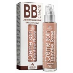 BB cream Acide hyaluronique Teinte Rose 50 ml Naturado crème teintée bio bb crème peaux claires les copines bio