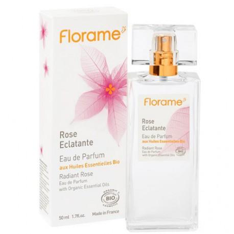 Eau de Parfum Rose Eclatante-50 ml - Huiles essentielles bio