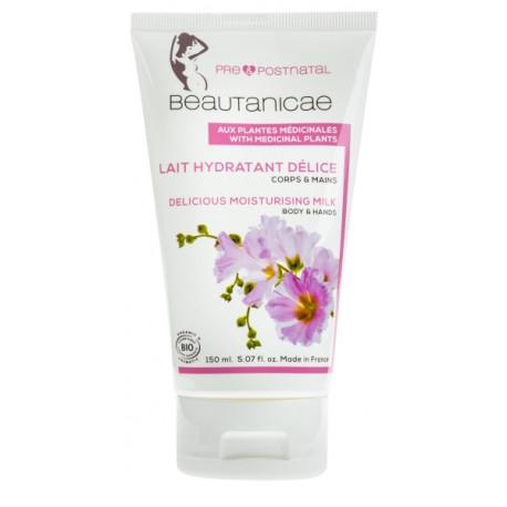 Beautanicae Lait hydratant Délice Plantes Médicinales Corps et Mains 150 ml lait hydratant corps bio les copines bio