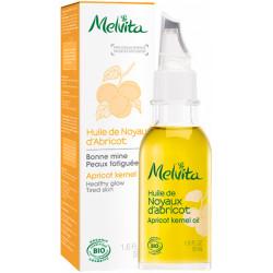 Melvita Huile de Noyaux d'Abricot Peaux grasses 50ml