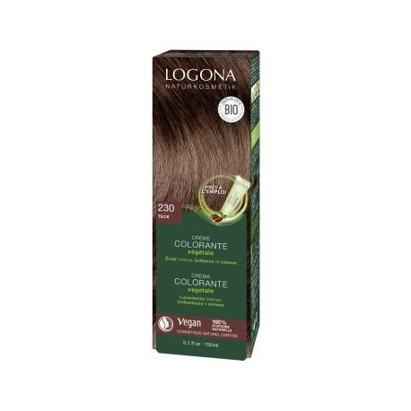 Crème colorante Teck cheveux blonds foncés à châtains 150ml