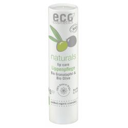 Eco cosmetics Baume à lèvres Grenade et extrait d'Olive 4 gr les copines bio