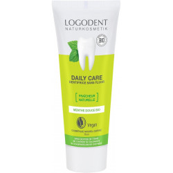Logona Dentifrice à la menthe Daily Care 75ml dentifrice bio les copines bio