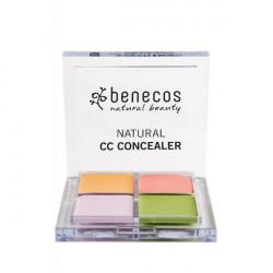 Benecos Correcteur de teint 4 couleurs les copines du bio maquillage bio