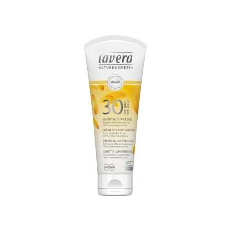 Lavera Crème solaire sensitive SPF 30 100 ml Les copines bio