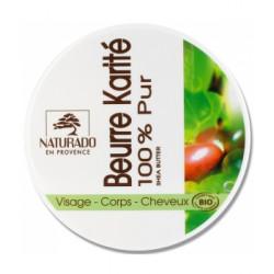 Naturado Beurre de karité bio 150gr nourrissant hydratant protecteur les copines bio