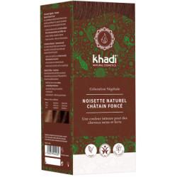 Khadi coloration végétale Noisette Naturel 100gr les copines bio