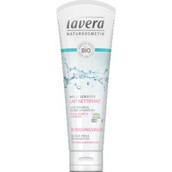 Lavera Lait nettoyant Basis Sensitiv 125 ml Les copines bio