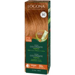 Crème colorante végétale Couleurs d'Automne cheveux chatains 150 ml