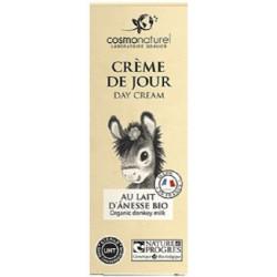 Cosmo naturel Crème de jour au lait d'ânesse bio 50 ml Les copines bio