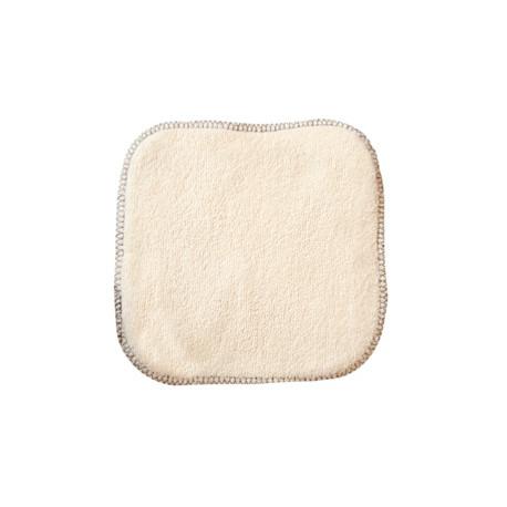 La débarbouillette 100% coton biologique 20X20 cm Les Copines Bio Hygiene bio