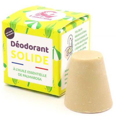 Déodorant solide Palmarosa 30 g Les Copines Bio Hygiène bio