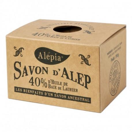 Alepia Savon d'Alep 40% Laurier 190 g Les Copines Bio Hygiène bio