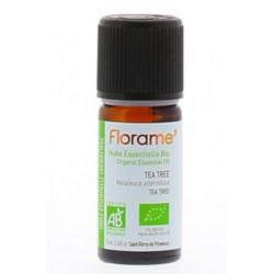 Huile essentielle bio Tea Tree 10 ml Florame Les Copines Bio Huile essentielle bio
