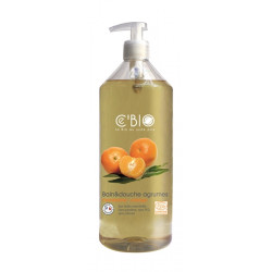 Bain et douche Agrumes Mandarine Orange 500 ml Les Copines Bio Hygiène bio