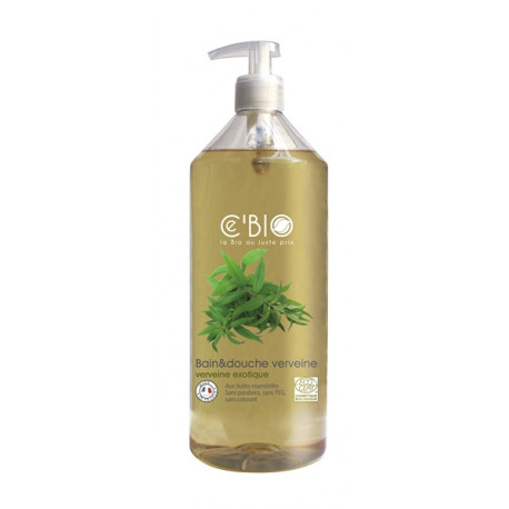 Bain et douche Verveine 500 ml Les Copines Bio Hygiène bio