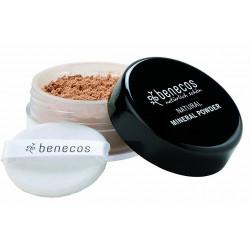Poudre libre minérale poussière d'étoiles (medium beige) 10 g Benecos Les Copines Bio Maquillage bio