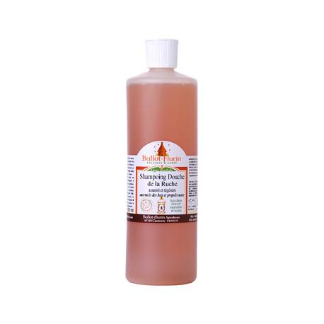 Ballot flurin Shampoing douche de la Ruche assainissant et doux propolis miel 500 ml Les Copines Bio Hygiène bio