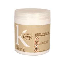 K pour Karité Masque réparateur Argile et Karité 200 g Les Copines Bio Cosmetique bio