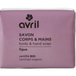 Avril cosmétique Savon de Provence Figue 100gr hygiène bio les copines