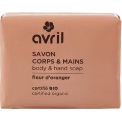 Avril cosmétique Savon de Provence Fleur d'oranger 100 gr - les copines bio