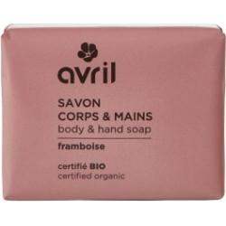 Avril cosmétique Savon de Provence Framboise 100gr hygiène bio les copines