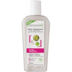 Dermaclay Après-Shampooing baume démêlant 250 ml les copines bio