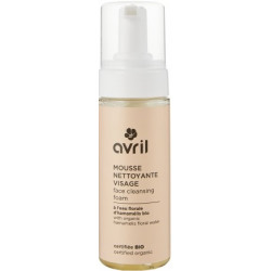 Avril mousse nettoyante demaquillante visage 150ml les copines bio